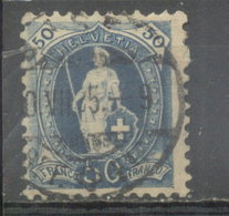 SUIZA - YVERT 76 (#1836) - 1862-1881 Helvetia Sentada (dentados)