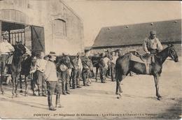 Pontivy - 2ème  Régiment De Chasseurs - Les Classes à Cheval - La Voltige - Pontivy