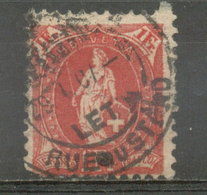 SUIZA - YVERT 79 (#1837) - 1862-1881 Helvetia Sentada (dentados)