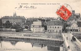 ¤¤  -   SOISSONS   -  La Caserne Charpentier, Vue De L'Ancien Pont  -  ¤¤ - Soissons