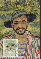 46303 Italia, Maximum 2019  Painting Of Vincent Van Gogh - Arts