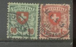 SUIZA - YVERT 208  -  209 (#1845) - Usados