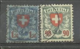 SUIZA - YVERT 208  -  210 (#1846) - Usados