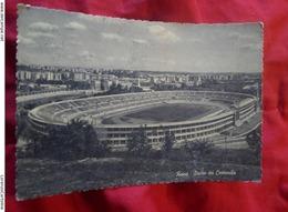 ROMA Stadio Dei Centomila CARTOLINA VIAGGIATA ANNI 50 - Stadi & Strutture Sportive