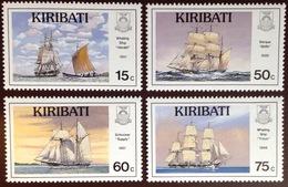 Kiribati 1990 Nautical History 2nd Series Ships MNH - Kiribati (1979-...)