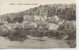 - 07 -  ARDECHE  - VOGUE - Chateau Et Falaises De Vogué - France