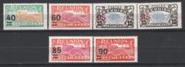 Reunion 1922/27 Y.T.97/102 */MH VF/F - Neufs