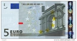 EURO GREECE 5 Y DUISENBERG P005 UNC - EURO
