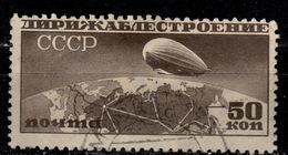 SU+ Sowjetunion 1931 Mi 400 Luftschiff - 1923-1991 USSR