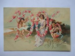 1906 -    ENFANTS   ET FILLETTE  ...        GAUFFREE                  TTB - Nouvel An