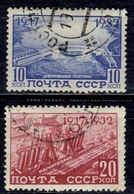 SU+ Sowjetunion 1932 Mi 416 418 Oktoberrevolution - 1923-1991 USSR