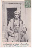 Tunisie -  TUNIS -  Riche Arabe - Dos Simple 1903 - Tunisia