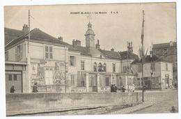 CPA [78] Yvelines > Poissy - La Mairie ( Dos Non Divisé ) - Poissy