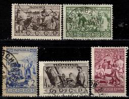 SU+ Sowjetunion 1933 Mi 429-33 Völkerschaften - 1923-1991 USSR