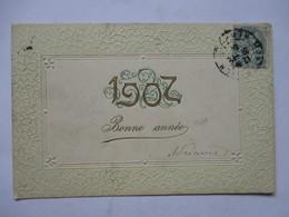 1907 -                 GAUFFREE                TTB - Nouvel An