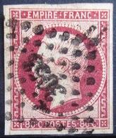 FRANCE              N° 17A              OBLITERE - 1853-1860 Napoléon III