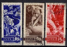 SU+ Sowjetunion 1935 Mi 495 497-98 Weltkriegsausbruch 1914 - 1923-1991 USSR