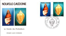 Nouvelle Calédonie FDC PA N°290 291 26 Novembre 1992 - FDC