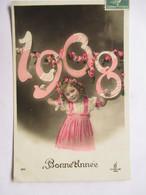 1908         FILLETTE              TTB - Nouvel An
