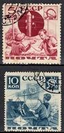 SU+ Sowjetunion 1936 Mi 545-46 Pioniere - 1923-1991 USSR