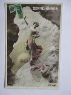 1908        FEMME DANS LES NUAGES  -  MASTROANI             TTB - Nouvel An