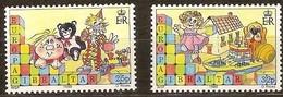 Gibraltar 1989 Yvertn° 573-574 *** MNH Cote 4,25 Euro CEPT Europa - Gibraltar