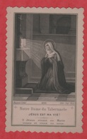Image Pieuse - -  SANTINO - Holly Card - Bouasse - Lebel - Paris - Celluloïd - - Imágenes Religiosas