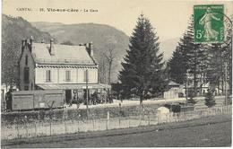 édit. Germain Malioux - 21 - CANTAL - Vic-sur-Cère - La Gare - Francia