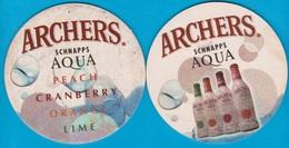 The Archers Schnapps Company ( Bd 2345 ) Grossbritannien - Bierdeckel