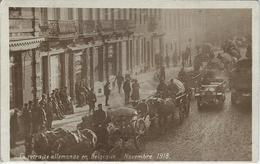 La Retraite Allemande En Belgique.   Novembre 1918 - Guerra 1914-18