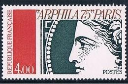 POSTAL HISTORY - STAMP ON STAMPS - FRANCE 1975 MNH - Exhibition Art On Stamps ARPHILIA - CERES - Briefmarken Auf Briefmarken