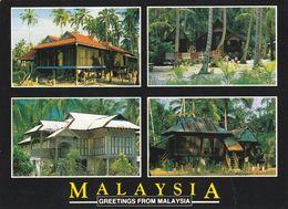 1 AK Malaysia * Kampung Häuser - Traditionelle Architektur In Malaysia * - Malaysia