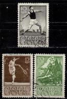 SU+ Sowjetunion 1938 Mi 658-60 Sport - 1923-1991 USSR
