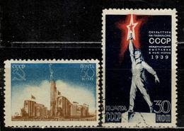 SU+ Sowjetunion 1939 Mi 693-94 Weltausstellung - 1923-1991 USSR