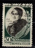 SU+ Sowjetunion 1939 Mi 727 Lermontow - 1923-1991 USSR