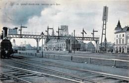 Belgique - Saint-Ghislain - Edit. S.B.P. N° 17 - Intérieur De La Gare - Saint-Ghislain