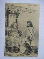 1905   VIEILLE FEMME  ET  FILLETTE        TTB - Nouvel An