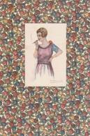 Cartolina - Postcard / Non Viaggiata - Unsent / Donnina. ( Profumi Bertelli ) - Donne