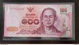 Thailand Banknote 100 Baht Series 16 P#125 SIGN#85 UNC - Thailand