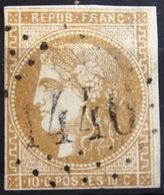 FRANCE              N° 43 A              OBLITERE - 1870 Emission De Bordeaux