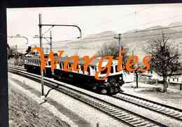 CPSA.   La Voie Ferrée Moderne - SUISSE. Ligne Thoune - Loetschberg.    () - Trains