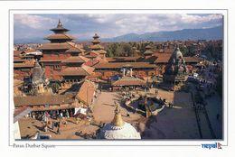 1 AK Nepal * Durbar Square In Patan Mit Den Tempeln Nyatapola Und Bhairab - Seit 1979 UNESCO Weltkulturerbe * - Nepal