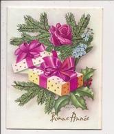 Carte Pop-up à Système - Illustration ZSOLT -   Cadeaux, Fleurs - Nouvel An