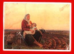 Mère Shurpin Tracteur De Maternité Tracteur Bébé Nourrisson Allaitement Kolkhoz Agriculteur Collectif - Tractors