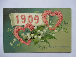 1909     COEURS DE   FLEURS          GAUFFREE         TTB - Nouvel An