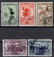 SU+ Sowjetunion 1940 Mi 780-84 Perekop - 1923-1991 USSR