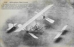 CPA. - > Aviation > Avions > ....-1914: Précurseurs > Hélicoplane Paul CORNU - TBE - ....-1914: Précurseurs