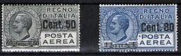 Italia (Aéreos) Nº 10 Y 11. Año 1927 - 1900-44 Victor Emmanuel III
