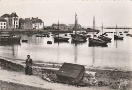 Dép. 29 - Le Port De L'ILE De SEIN (Finistère) - Ed. Jean Kerisit, Audierne. Photographie Véritable. Animée. - Ile De Sein