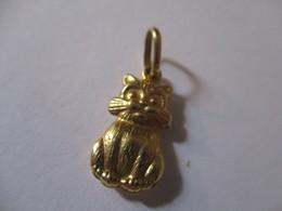 Ciondolo Gatto In Oro 1,5cm - Pendants